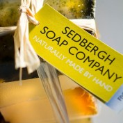 sedbergh soap stack of fiev soaps